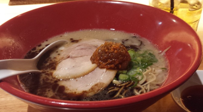 Lunch at Ippudo