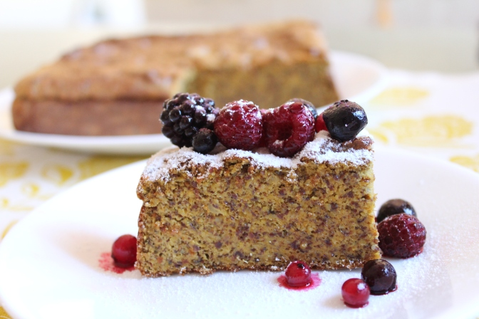 Citrus Almond/LSA Cake