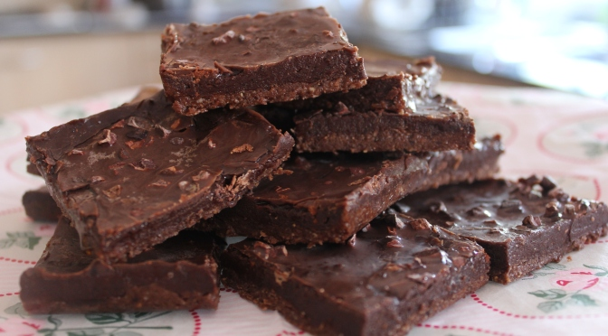 The Healthier Mocha Brownie recipe